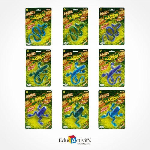Animales Elásticos Reptiles Estirables - Educactivity - Juguetes y Materiales Educativos