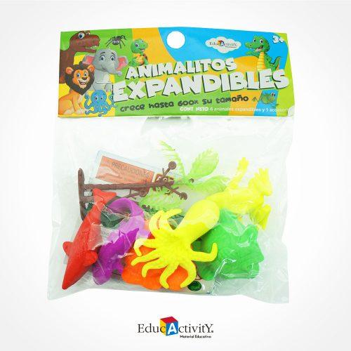 Animales Expandibles con Agua - Educactivity - Juguetes y Materiales Educativos