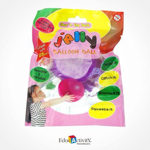 Pelota Jelly Ballon Ball - Globo Resistente - Educactivity - Juguetes y Materiales Educativos